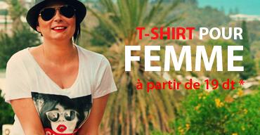 tee shirt pour femme